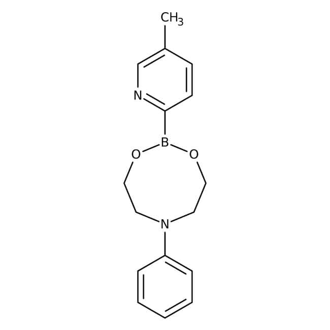 5-Methylpyridine-2-boronic acid N-phenyldiethanolamine ester, 50-70%, see CofA for e, ACROS Organics™
