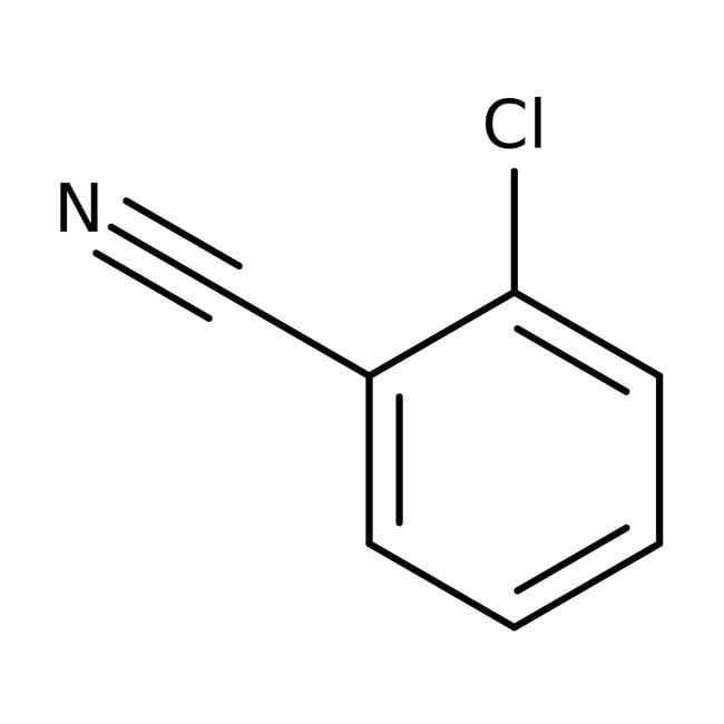 2-Chlorobenzonitrile, 99%, ACROS Organics™ 250g; Glass bottle 2-Chlorobenzonitrile, 99%, ACROS Organics™