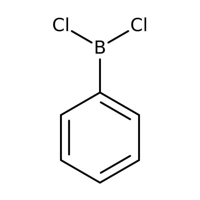 Alfa Aesar™Dichlorophenylborane, 96% 5g Alfa Aesar™Dichlorophenylborane, 96%