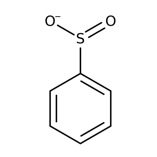 Benzenesulfinic acid, sodium salt, 97%, Acros Organics 100g; Plastic bottle Benzenesulfinic acid, sodium salt, 97%, Acros Organics