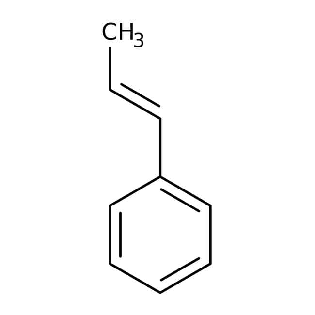 trans-beta-Methylstyrene (stabilized with TBC) 97.0 %, TCI America