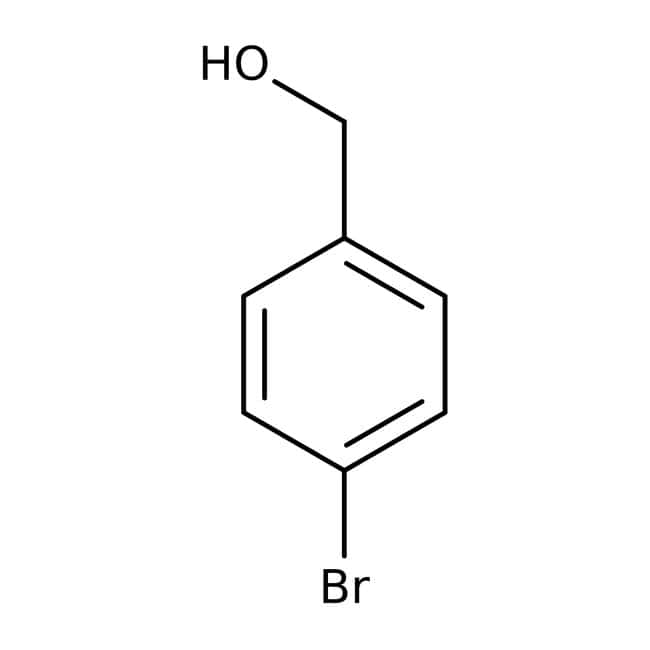4-Bromobenzyl alcohol, 99%, ACROS Organics™: Benzene and substituted derivatives Benzenoids