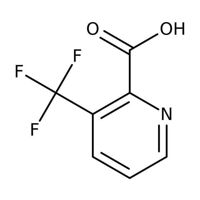 3-(Trifluoromethy)pyridine-2-carboxylic acid, 97%, Acros Organics 5g 3-(Trifluoromethy)pyridine-2-carboxylic acid, 97%, Acros Organics