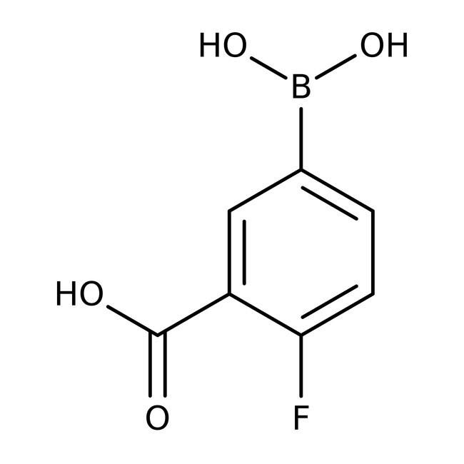 4-Fluor-3-Methoxycarbonylphenylboronsäure, 98%, Acros Organics™ 5g 4-Fluor-3-Methoxycarbonylphenylboronsäure, 98%, Acros Organics™