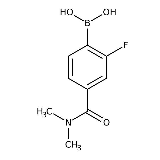 Alfa Aesar™4-Dimethylcarbamoyl-2-fluorobenzeneboronic acid, 97%