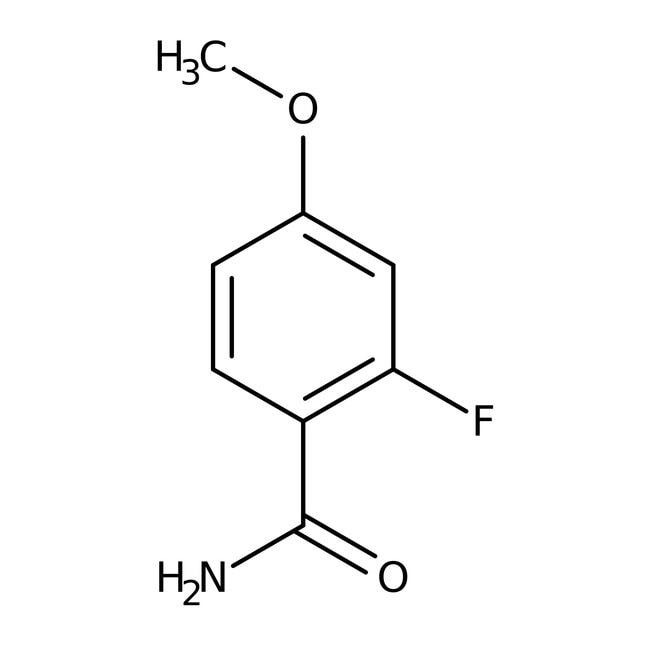 Alfa Aesar™2-Fluor-4-Methoxybenzamid, 97% 1g Alfa Aesar™2-Fluor-4-Methoxybenzamid, 97%