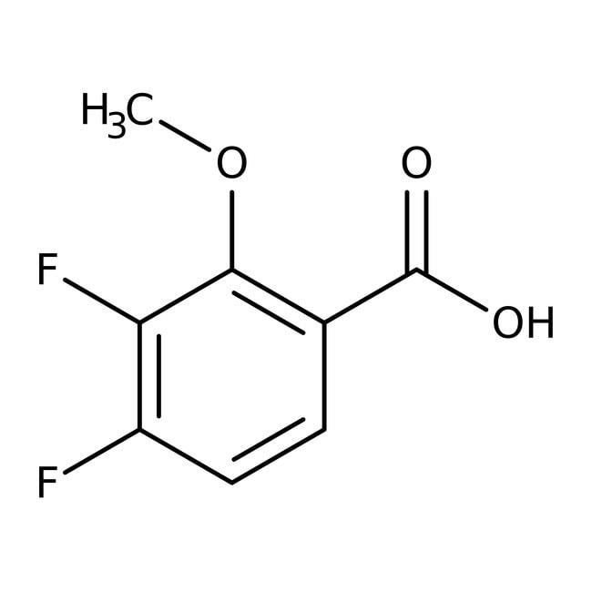 Alfa Aesar™Acide 3,4-difluoro-2-méthoxybenzoïque, 97% 250mg Alfa Aesar™Acide 3,4-difluoro-2-méthoxybenzoïque, 97%