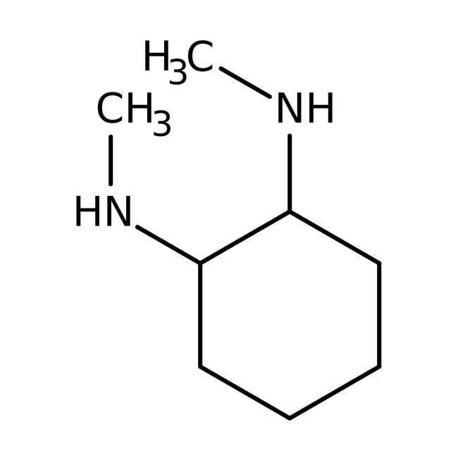 Alfa Aesar™(1S,2S)-(+)-trans-1,2-Bis(methylamino)cyclohexane, 98% 1g Alfa Aesar™(1S,2S)-(+)-trans-1,2-Bis(methylamino)cyclohexane, 98%