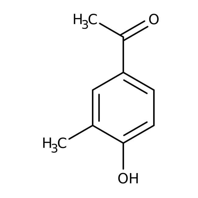 Alfa Aesar™4'-Hydroxy-3'-methylacetophenone, 98% 25g Alfa Aesar™4'-Hydroxy-3'-methylacetophenone, 98%
