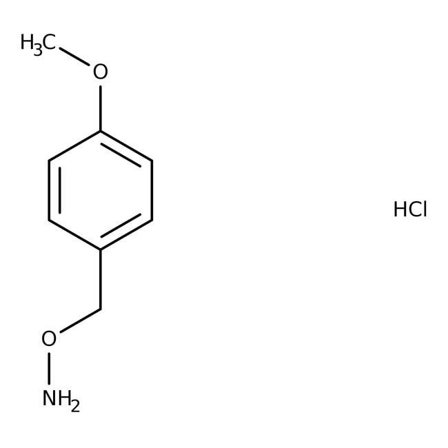 Alfa Aesar™O-(4-Methoxybenzyl)hydroxylamin-hydrochlorid, 98% 5g Alfa Aesar™O-(4-Methoxybenzyl)hydroxylamin-hydrochlorid, 98%