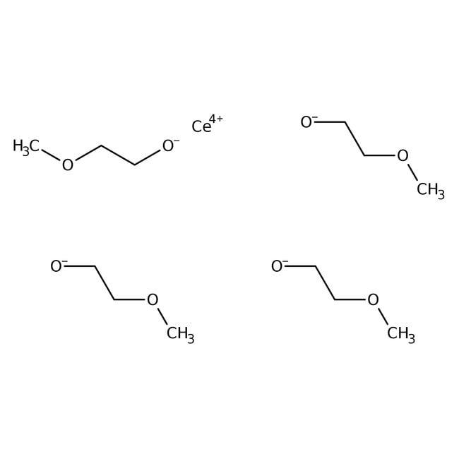 Alfa Aesar  Cerium(IV) 2-methoxyethoxide, 18-20% w/w in 2-methoxyethanol