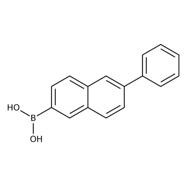 Alfa Aesar™6-Phenylnaphthalene-2-boronic acid, 98% 5g Alfa Aesar™6-Phenylnaphthalene-2-boronic acid, 98%
