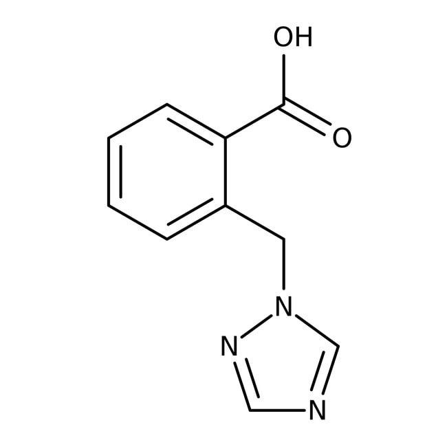 2-(1H-1,2,4-triazol-1-ylmethyl)benzoic acid, 97%, Maybridge Amber Glass Bottle; 1g 2-(1H-1,2,4-triazol-1-ylmethyl)benzoic acid, 97%, Maybridge