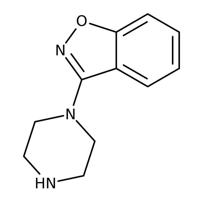 3-(Piperazin-1-yl)-1,2-benzisoxazole, 95%, ACROS Organics™