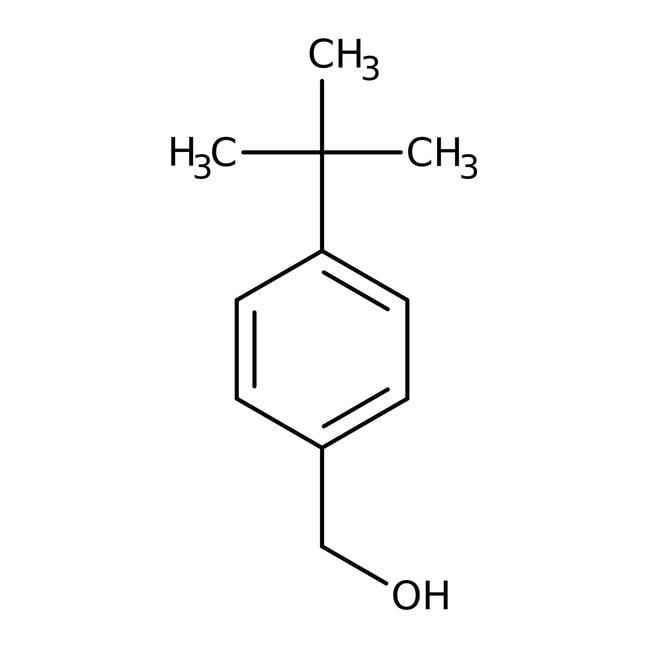 Alfa Aesar™4-tert-Butylbenzyl alcohol, 98% 5g Alfa Aesar™4-tert-Butylbenzyl alcohol, 98%