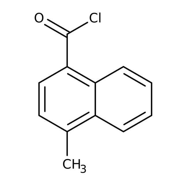 Alfa Aesar™4-Methyl-1-Naphthoylchlorid, 98% 5g Alfa Aesar™4-Methyl-1-Naphthoylchlorid, 98%