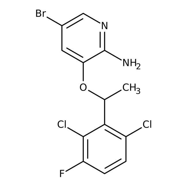 (R)-5-Bromo-3-[1-(2,6-dichloro-3-fluorophenyl)ethoxy]pyridin-2-amine 98.0 %, TCI America