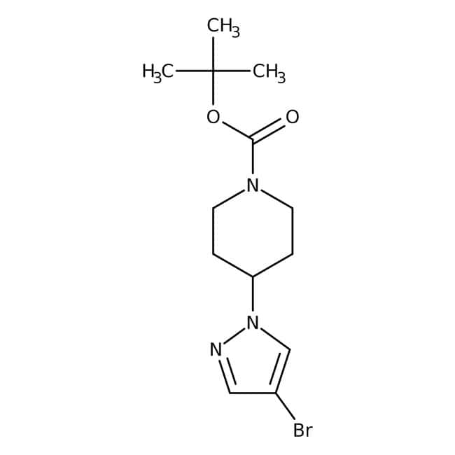 Alfa Aesar  1-(4-Boc-1-piperidinyl)-4-bromopyrazole, 98%