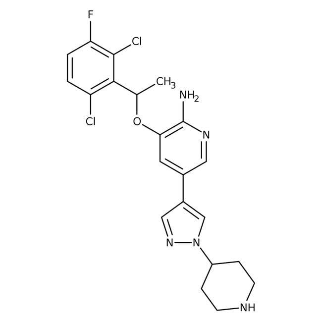 Crizotinib, Tocris Bioscience™ 10mg Crizotinib, Tocris Bioscience™