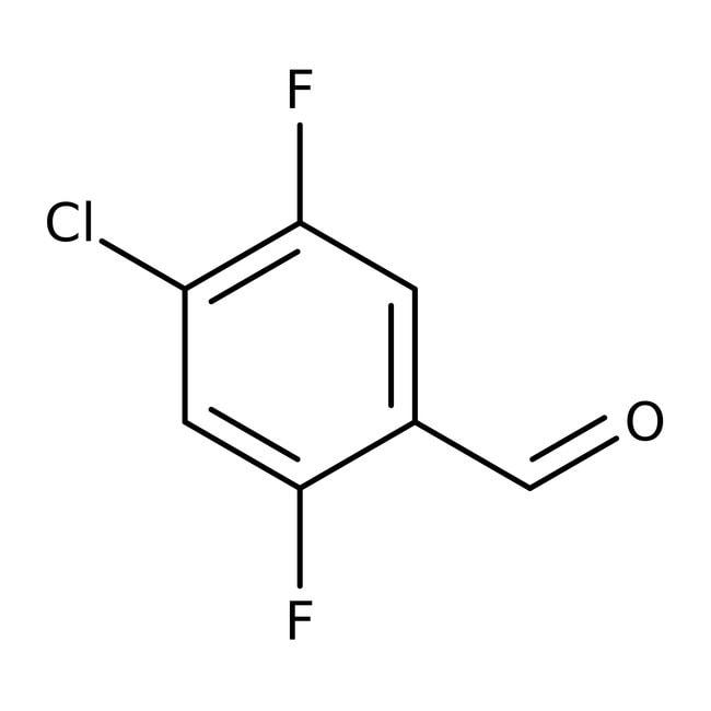 Alfa Aesar™4-Chloro-2,5-difluorobenzaldehyde, 98% 250mg Alfa Aesar™4-Chloro-2,5-difluorobenzaldehyde, 98%