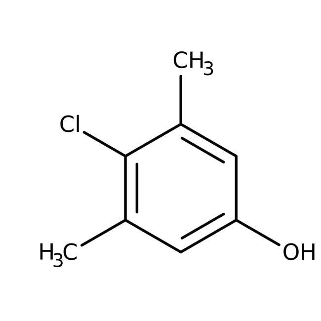 4-Chloro-3,5-dimethylphenol, 99%, ACROS Organics™ 500g 4-Chloro-3,5-dimethylphenol, 99%, ACROS Organics™