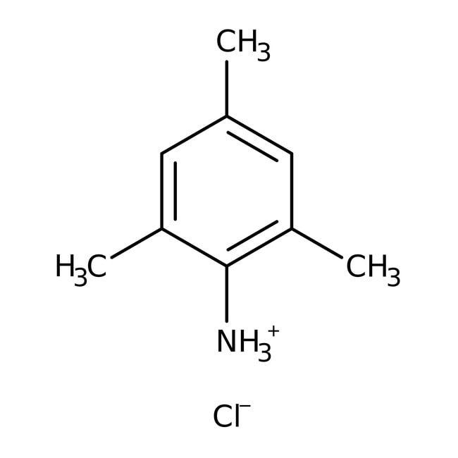 2,4,6-Trimethylaniline, 97%, ACROS Organics™ 2.5kg; glass bottle 2,4,6-Trimethylaniline, 97%, ACROS Organics™