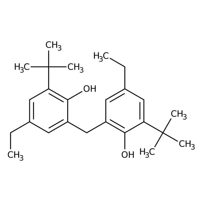 2,2′-Methylenebis(6-tert-butyl-4-ethylphenol) 98.0+%, TCI America™
