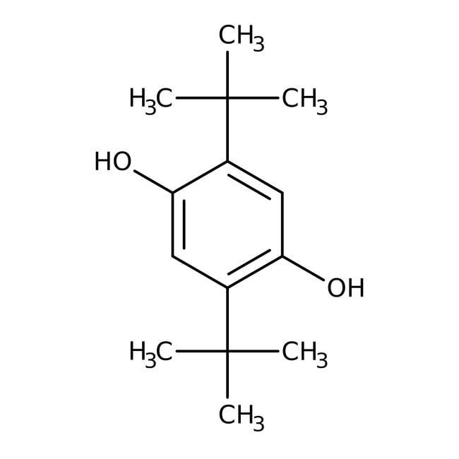 2,5-Di-tert-butylhydroquinone, 99%, ACROS Organics™ 1kg; Plastic bottle prodotti trovati