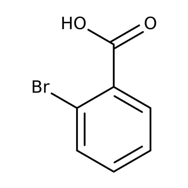 2-Bromobenzoic acid, 97%, Acros Organics
