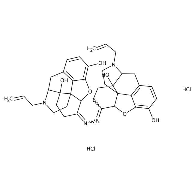 Naloxonazine dihydrochloride, Tocris Bioscience™ 10mg Naloxonazine dihydrochloride, Tocris Bioscience™