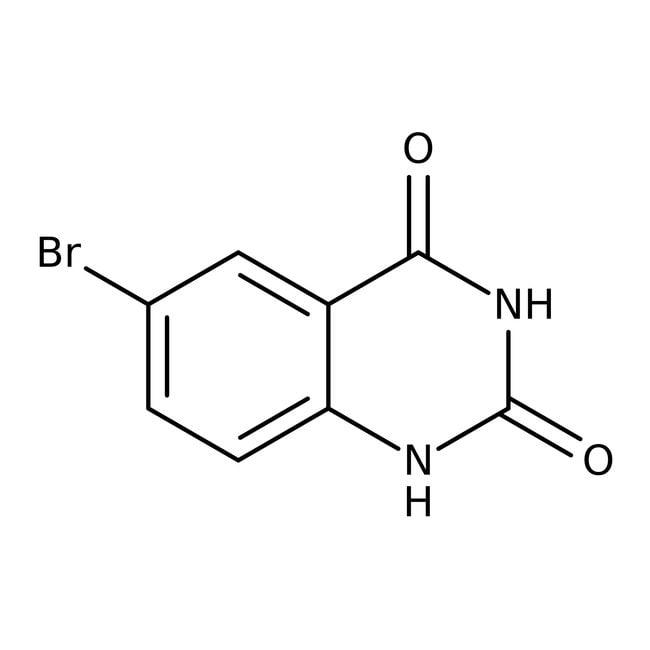 Alfa Aesar™6-Bromoquinazoline-2,4(1H,3H)-dione, 97% 1g Alfa Aesar™6-Bromoquinazoline-2,4(1H,3H)-dione, 97%