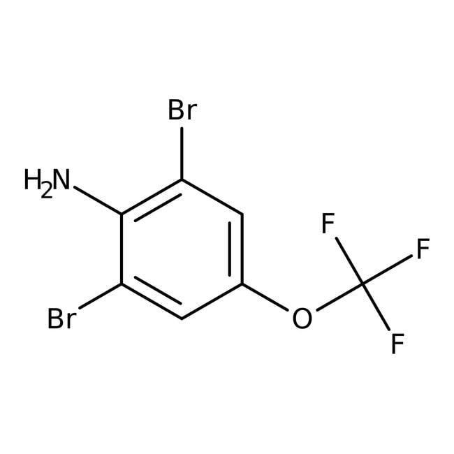 Alfa Aesar™2,6-Dibromo-4-(trifluoromethoxy)aniline, 97%