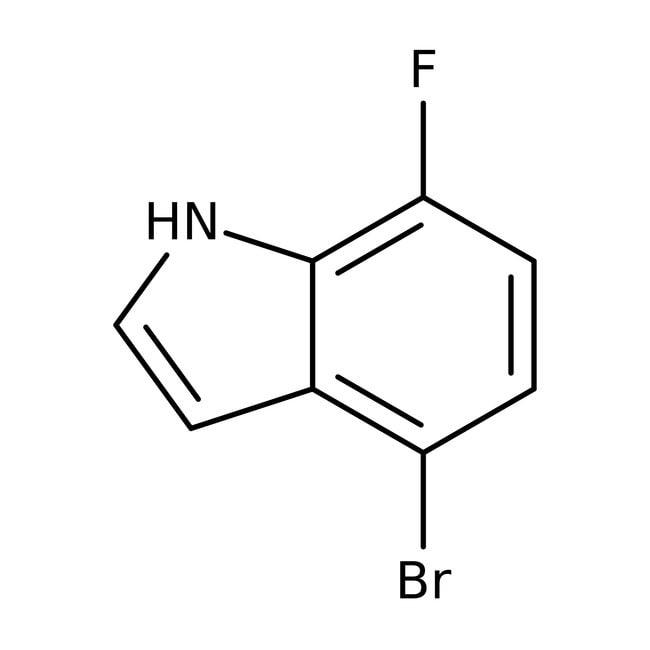 Alfa Aesar™4-Bromo-7-fluoroindole, 95%