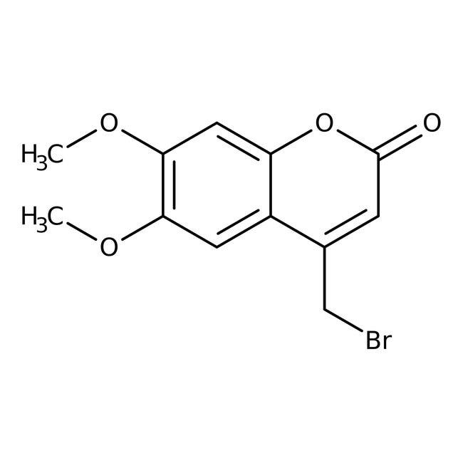 Alfa Aesar™4-Bromomethyl-6,7-dimethoxycoumarin, 95%: Coumarins and derivatives Phenylpropanoids and polyketides