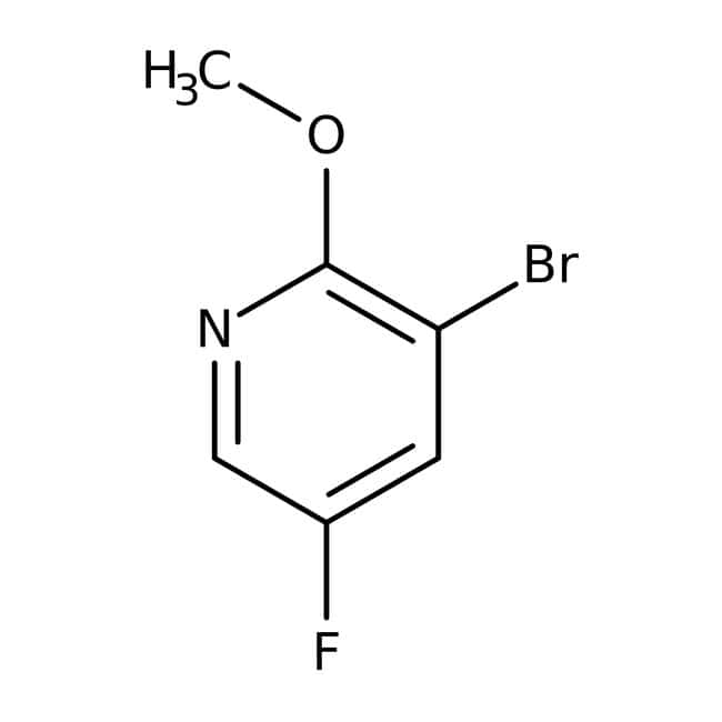 Alfa Aesar™3-Bromo-5-fluoro-2-methoxypyridine, 95% 1g Alfa Aesar™3-Bromo-5-fluoro-2-methoxypyridine, 95%