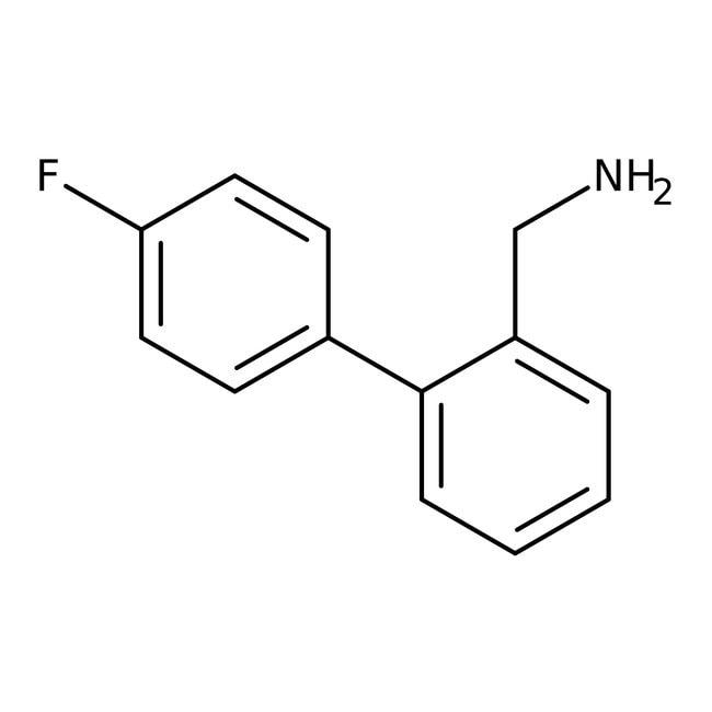 Alfa Aesar™4'-Fluoro-2-biphenylmethylamine, 97% 250mg Alfa Aesar™4'-Fluoro-2-biphenylmethylamine, 97%