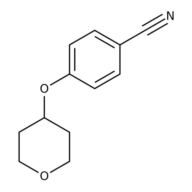4-(Tetrahydropyran-4-yloxy)benzonitrile, 97%, Maybridge™