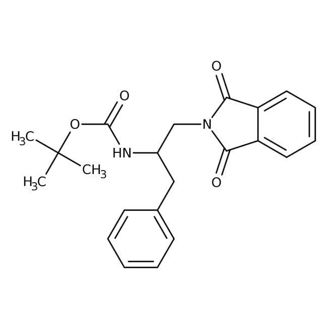 N-[2-Benzyl-2-(Boc-amino)ethyl]isoindole-1,3-dione, 97%, Alfa Aesar™ 1g N-[2-Benzyl-2-(Boc-amino)ethyl]isoindole-1,3-dione, 97%, Alfa Aesar™