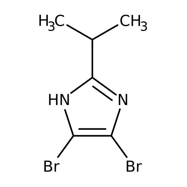 Alfa Aesar™4,5-Dibromo-2-isopropylimidazole, 97% 5g Alfa Aesar™4,5-Dibromo-2-isopropylimidazole, 97%