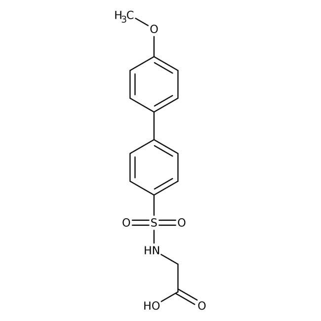N-(4'-Methoxy-4-biphenylylsulfonyl)glycine, 96%, Thermo Scientific™: Biochemicals Chemicals