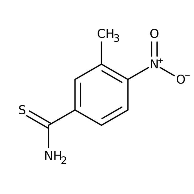 Alfa Aesar™3-Methyl-4-nitrothiobenzamide, 97%
