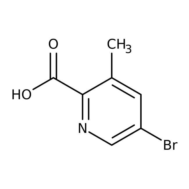 Alfa Aesar™5-Bromo-3-methylpyridine-2-carboxylic acid, 97% 5g Alfa Aesar™5-Bromo-3-methylpyridine-2-carboxylic acid, 97%