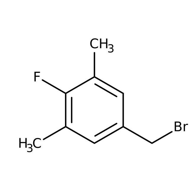 Alfa Aesar™4-Fluoro-3,5-dimethylbenzyl bromide, 97% 1g Alfa Aesar™4-Fluoro-3,5-dimethylbenzyl bromide, 97%