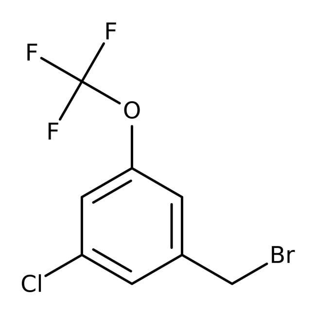 Alfa Aesar™3-Chloro-5-(trifluoromethoxy)benzyl bromide, 97% 250mg Alfa Aesar™3-Chloro-5-(trifluoromethoxy)benzyl bromide, 97%