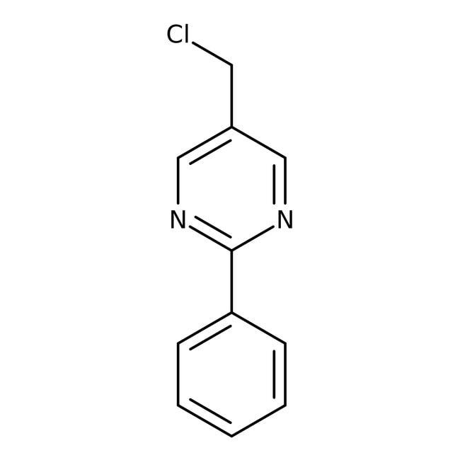 5-(Chloromethyl)-2-phenylpyrimidine, 97%, Maybridge™ Amber Glass Bottle; 1g 5-(Chloromethyl)-2-phenylpyrimidine, 97%, Maybridge™