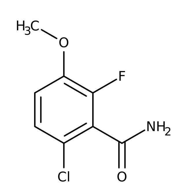 Alfa Aesar™6-Chloro-2-fluoro-3-methoxybenzamide, 97%
