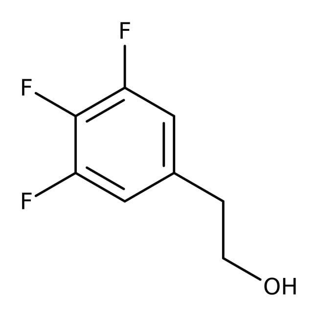 Alfa Aesar™2-(3,4,5-Trifluorophenyl)ethanol, 96% 250mg Alfa Aesar™2-(3,4,5-Trifluorophenyl)ethanol, 96%