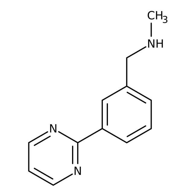 N-Methyl-3-pyrimidin-2-ylbenzylamine, 97%, Maybridge™ Amber Glass Bottle; 250mg N-Methyl-3-pyrimidin-2-ylbenzylamine, 97%, Maybridge™