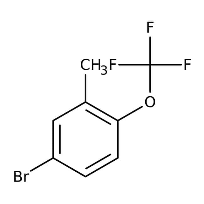 Alfa Aesar™5-Brom-2-(Trifluoromethoxy)Toluol, 97% 1g Alfa Aesar™5-Brom-2-(Trifluoromethoxy)Toluol, 97%