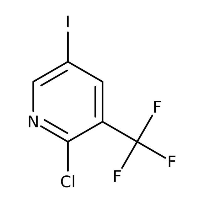 Alfa Aesar™2-Chlor-5-iod-3-(trifluormethyl)-pyridin, 95% 5g Alfa Aesar™2-Chlor-5-iod-3-(trifluormethyl)-pyridin, 95%